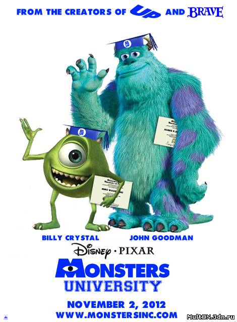 Университет монстров \ Monsters University